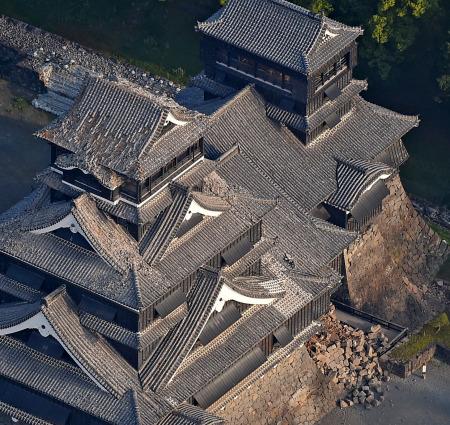 熊本地震 熊本城