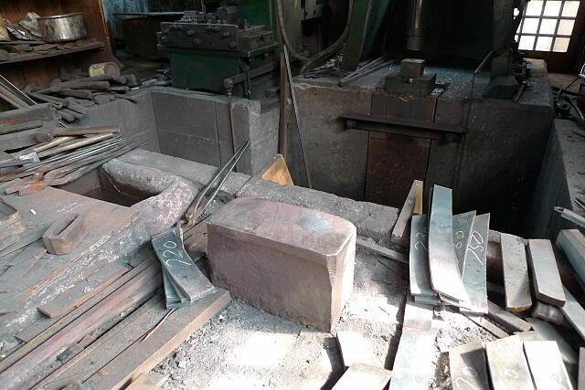 鍛冶蔵の様子